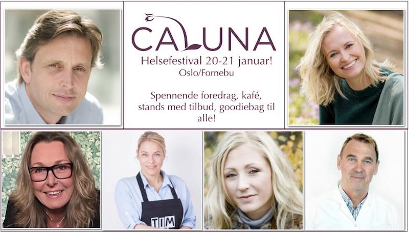 Calunas Helsefestival 20. og 21. januar! Lær av fagfolk!