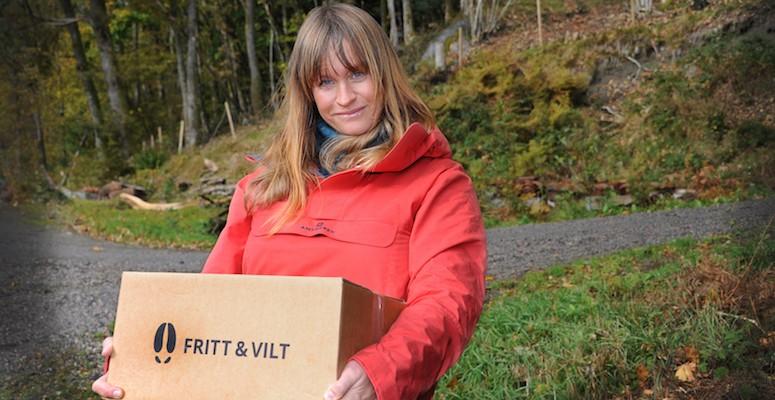 Camilla startet Fritt & vilt: – Å partere er helt greit.