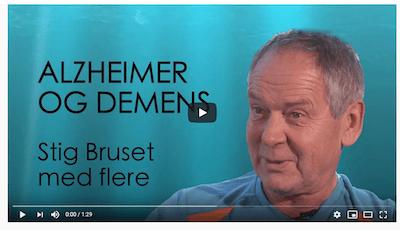Skjermbilde av lege Stig Bruset. Bildet er tatt av en video der han snakker.